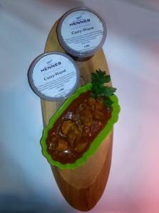 Naturmetzgerei Hennes, Currywurst im Glas